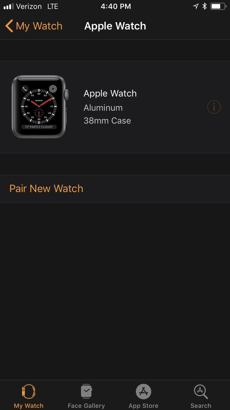How to Reset Your Apple Watch Back to Factory Settings for a Clean