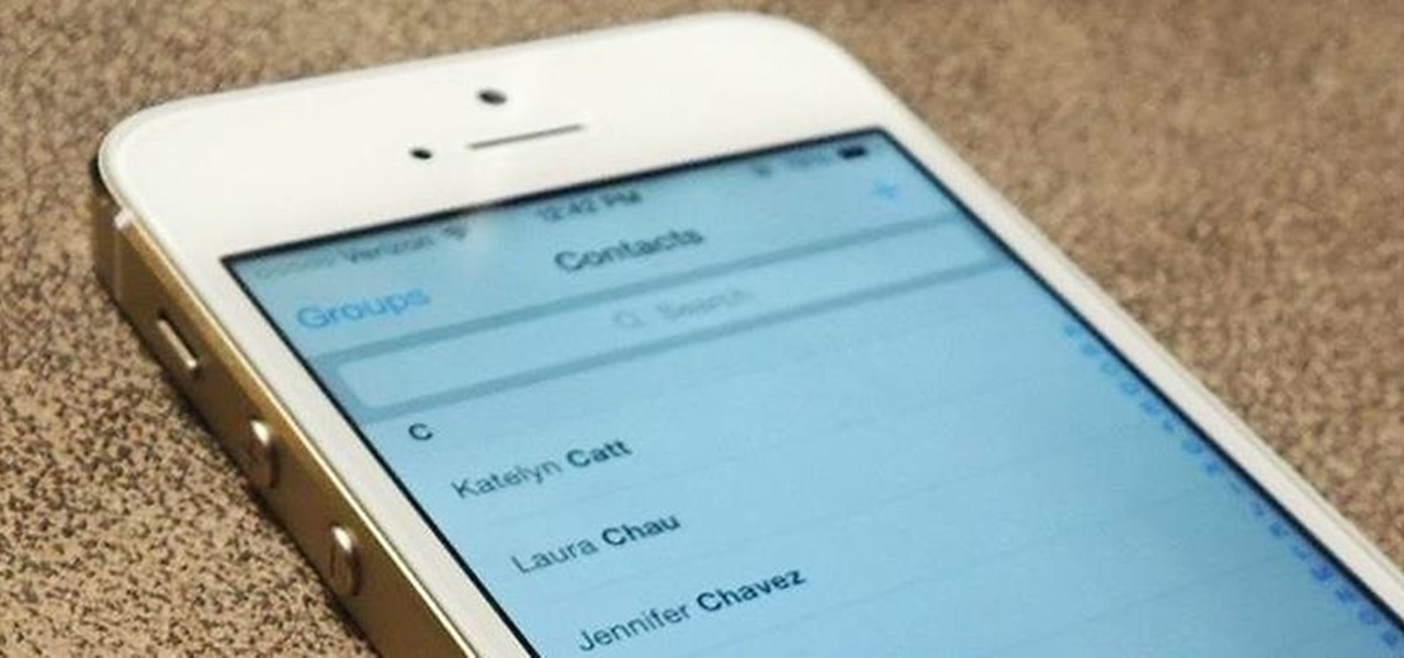 Find & Fix Missing Contacts in iOS 7.1.2