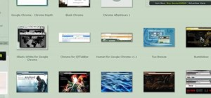 Obtain custom Google Chrome themes