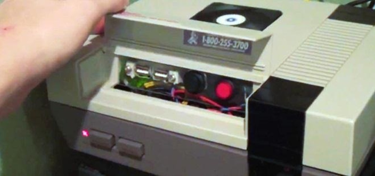Turn Your Old NES into an All-In-One Retro Gaming Console
