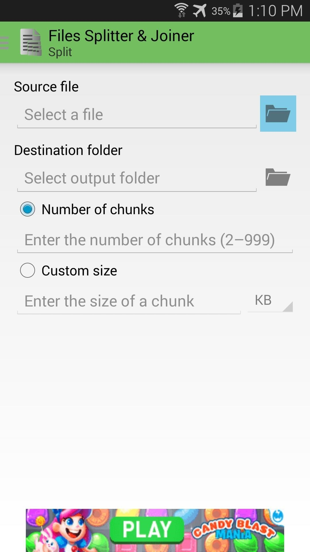 How to Split Large Files for Easy Sharing on Your Nexus 5 or Other