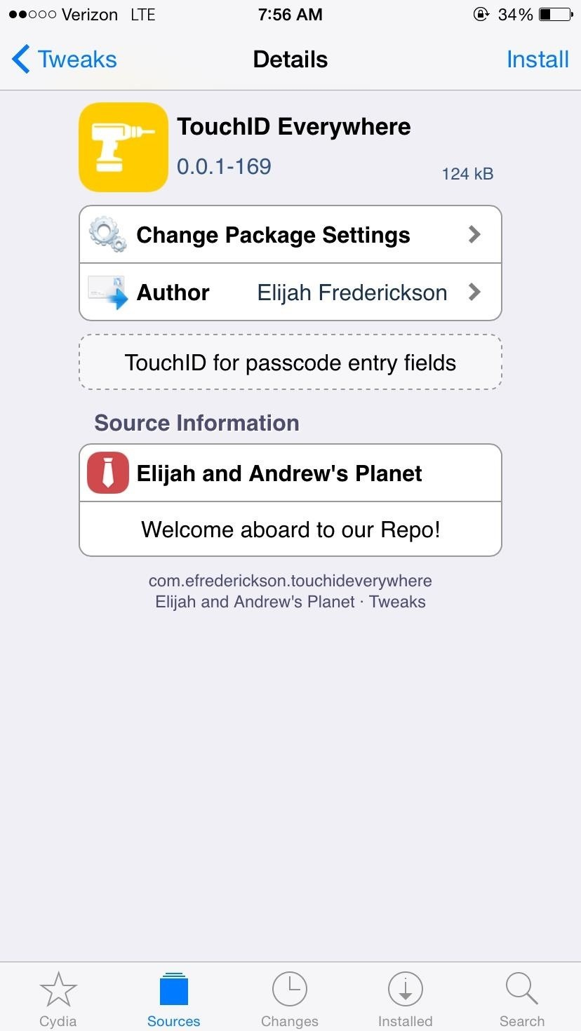 Use Touch ID to Log into Apps & Websites More Easily on Your iPhone