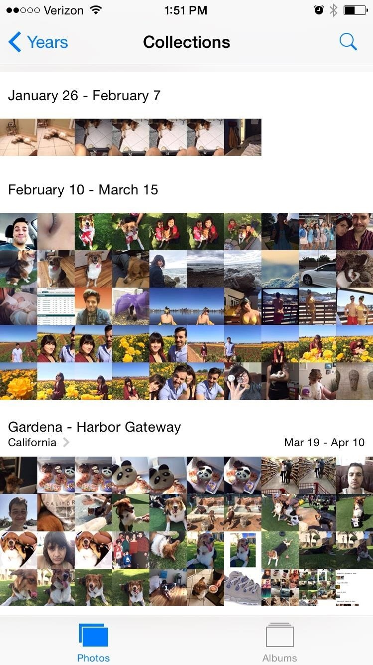 iPhone Quick Tip: Jump to the Bottom of Photo Albums in One Tap