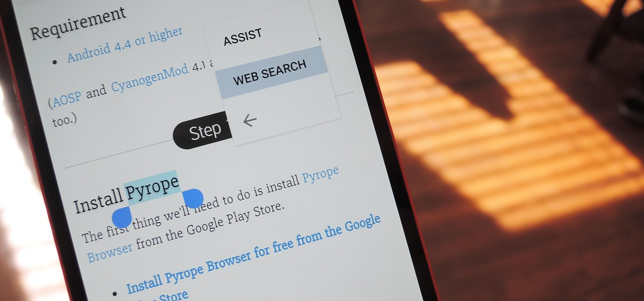 Copy, Share & Search Text from Almost Anywhere in Chrome on Android