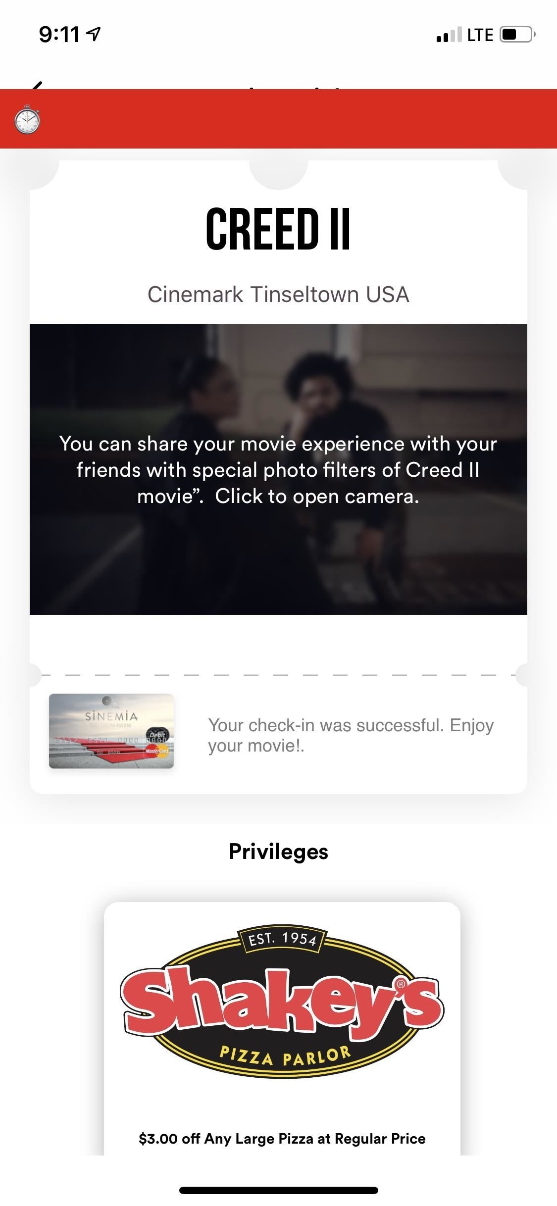 moviepass card activation not working