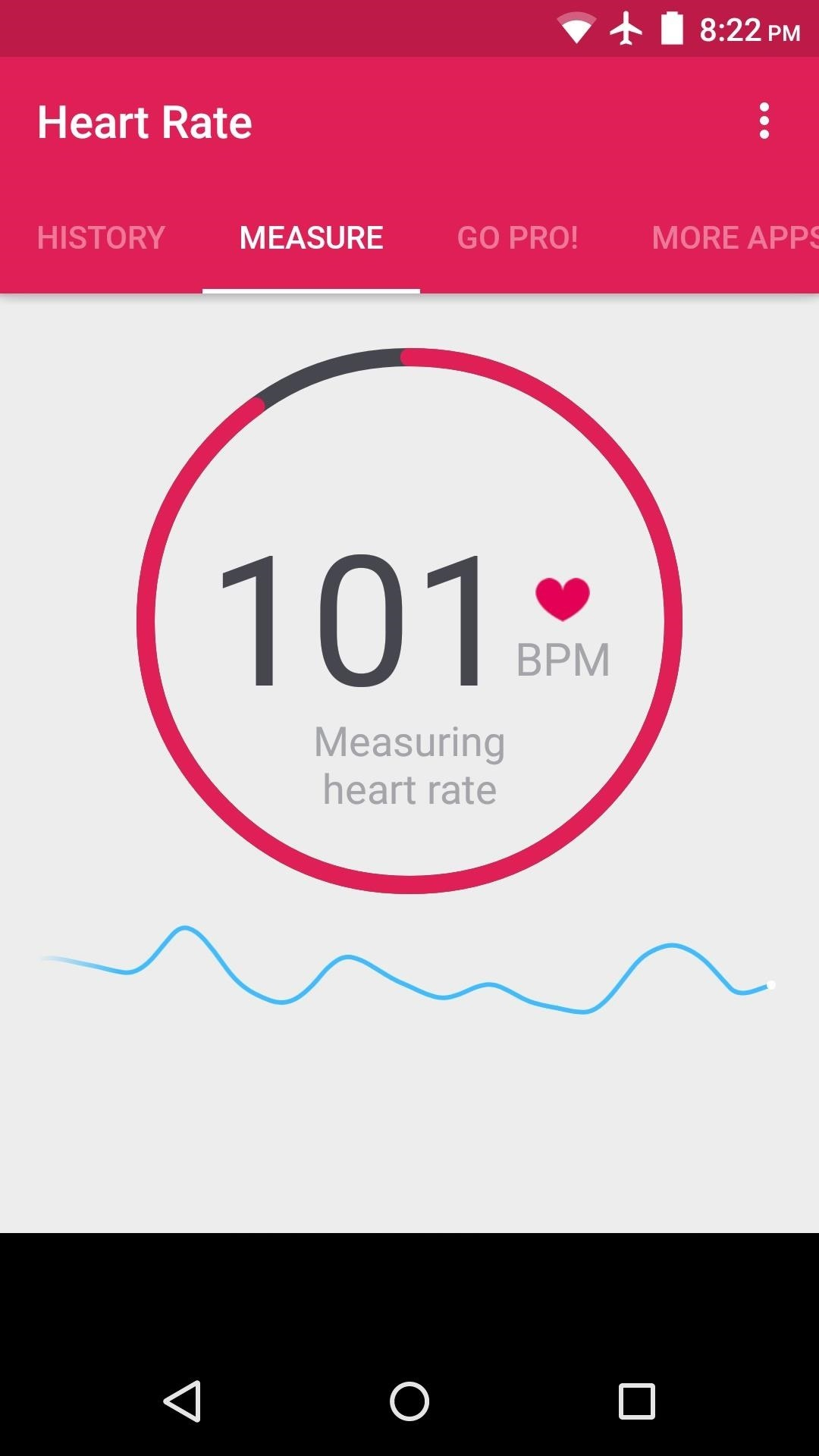 How to Check Your Heart Rate on Any Android Phone « Android