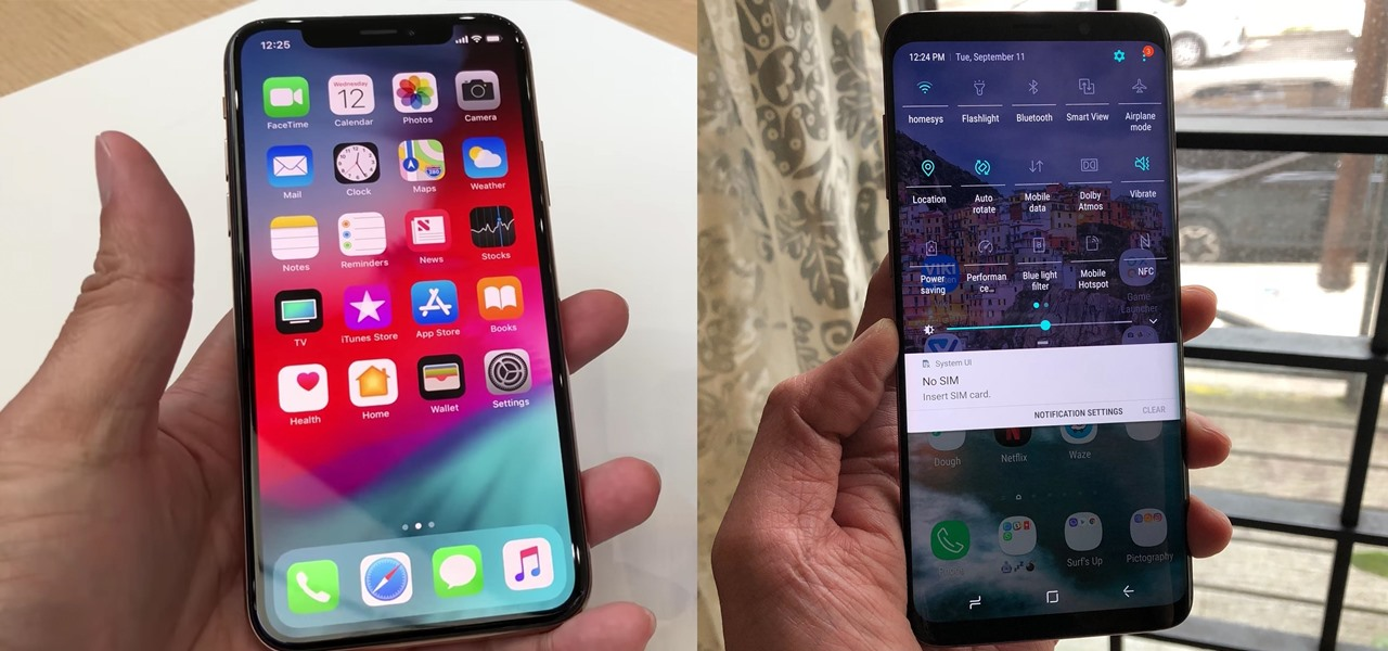 iPhone XS vs. Samsung Galaxy S9: The Battle of the Small Giants