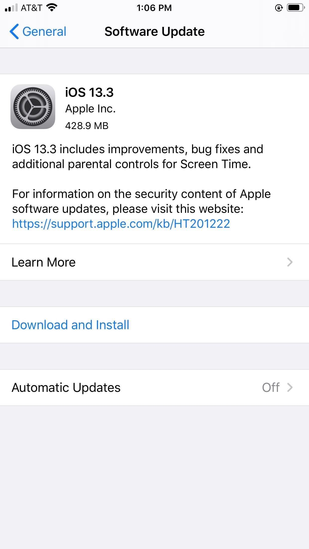 Apple's iOS 13.3 released for the iPhone, Includes power button for Memoji sticker, new mouse options and more