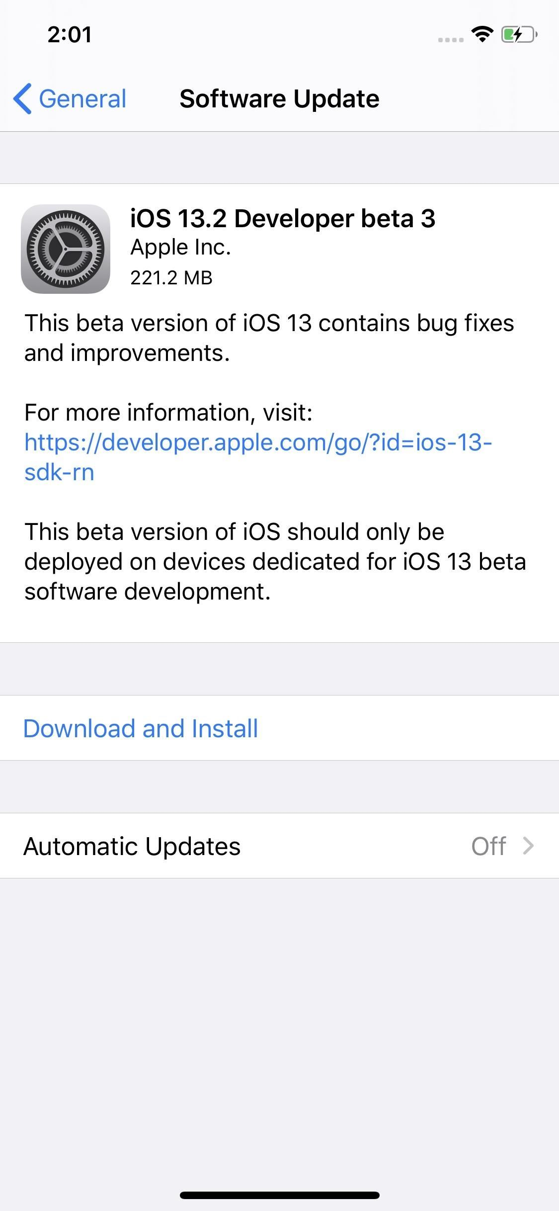 Apple Just Released iOS 13.2 Developer Beta 3 for iPhone