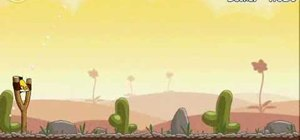 Beat Angry Birds level 3-6 with three stars