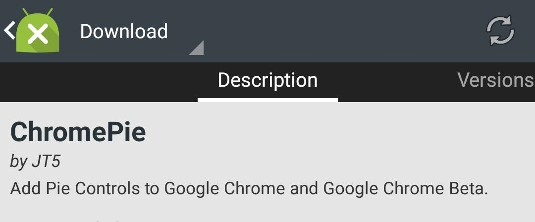 Add Thumb-Friendly Pie Controls to Chrome on Android
