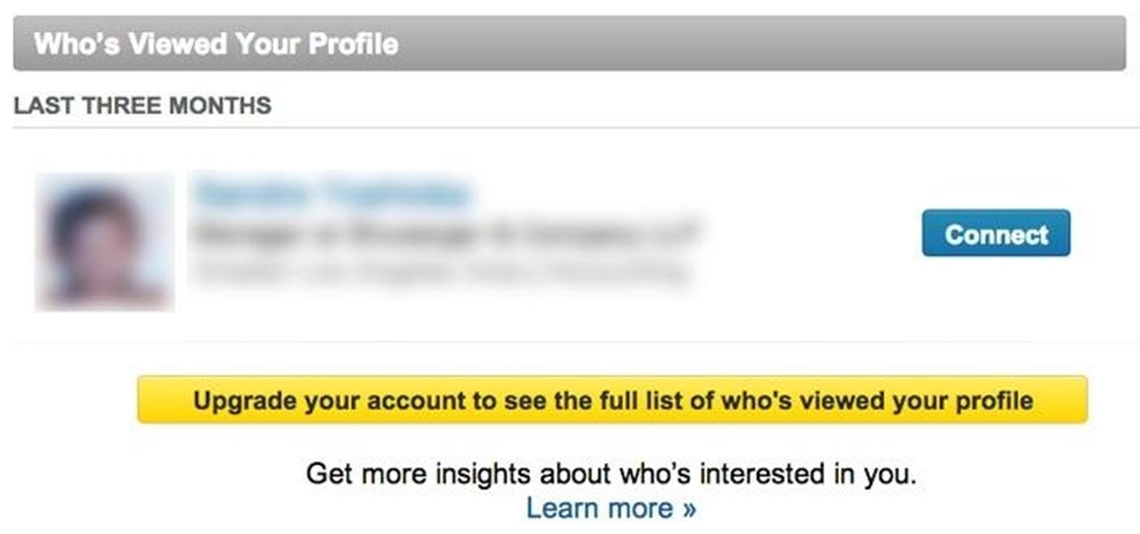 See Who Has Viewed Your LinkedIn Profile Without Paying