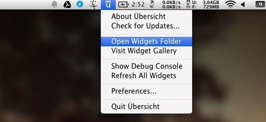 Add Custom or Pre-Made HTML5 Widgets to Your Mac's Desktop