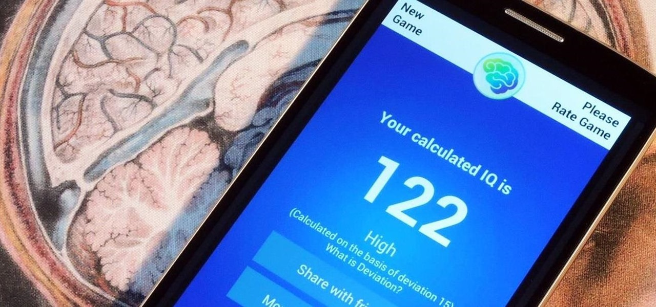 Feeling Smart? Test Your IQ with Your Android Device
