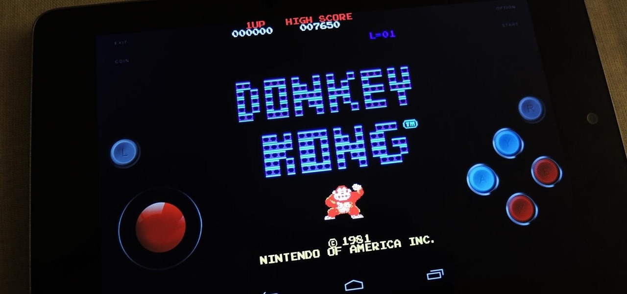Play Almost Any Old School Arcade Game for Free on Your Nexus 7 Tablet