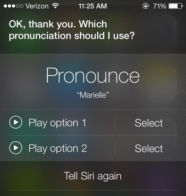 How to Make Siri Pronounce Names the Correct Way on Your iPhone Running iOS 7