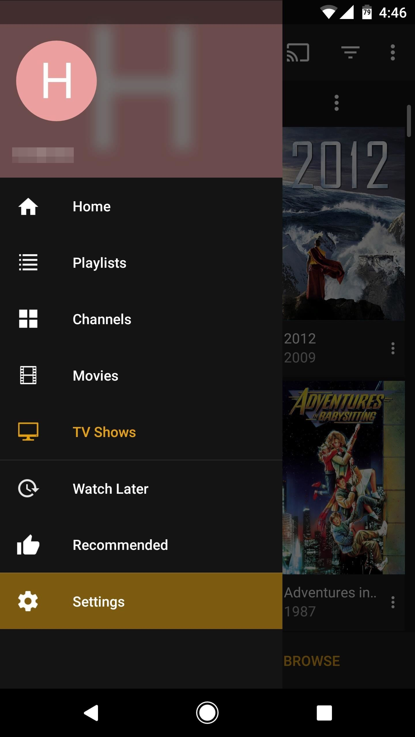 Plex 101: How to Disable Auto Play for TV Episodes