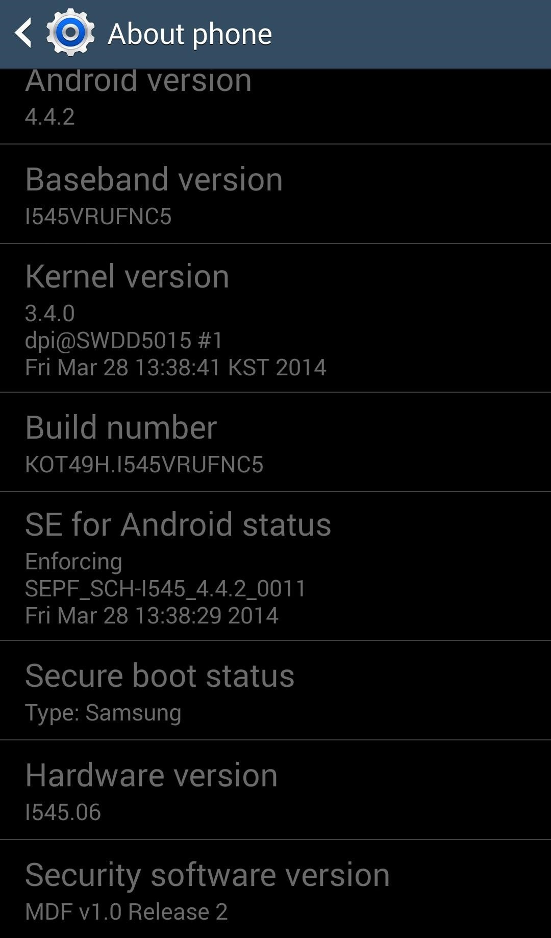Verizon's KitKat Update for the Galaxy S4 Is Available Now (A Week Earlier Than Expected)