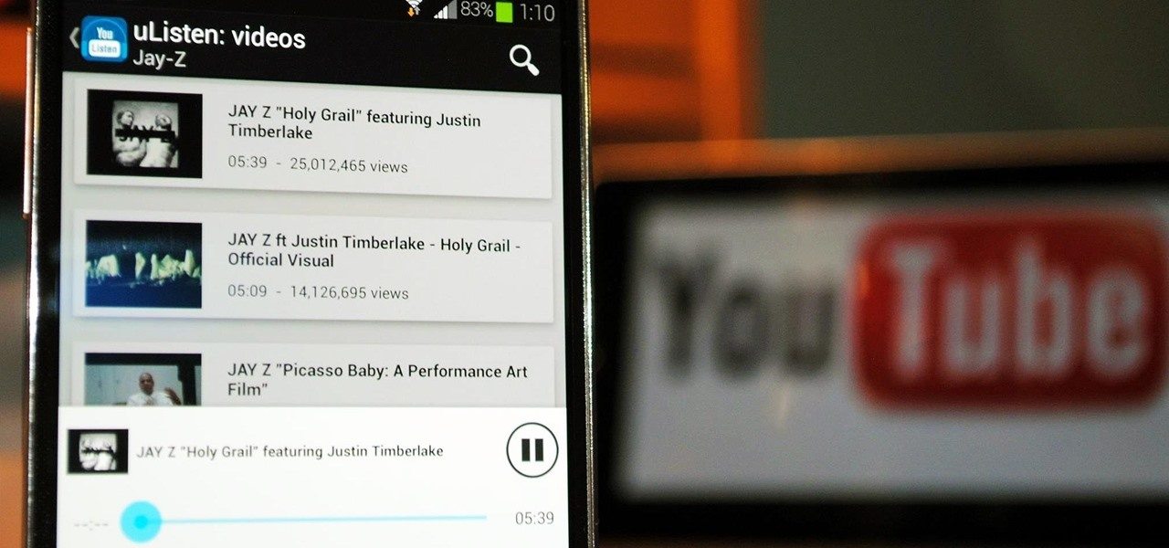 Save Battery & Data When Streaming YouTube Videos in the Background on Your Samsung Galaxy S4