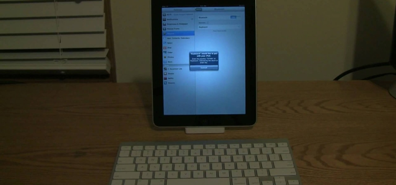 hook keyboard ipad