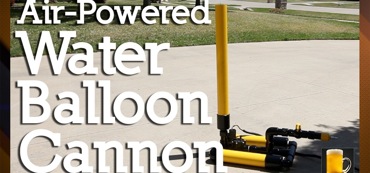 Build a Water Balloon Launcher