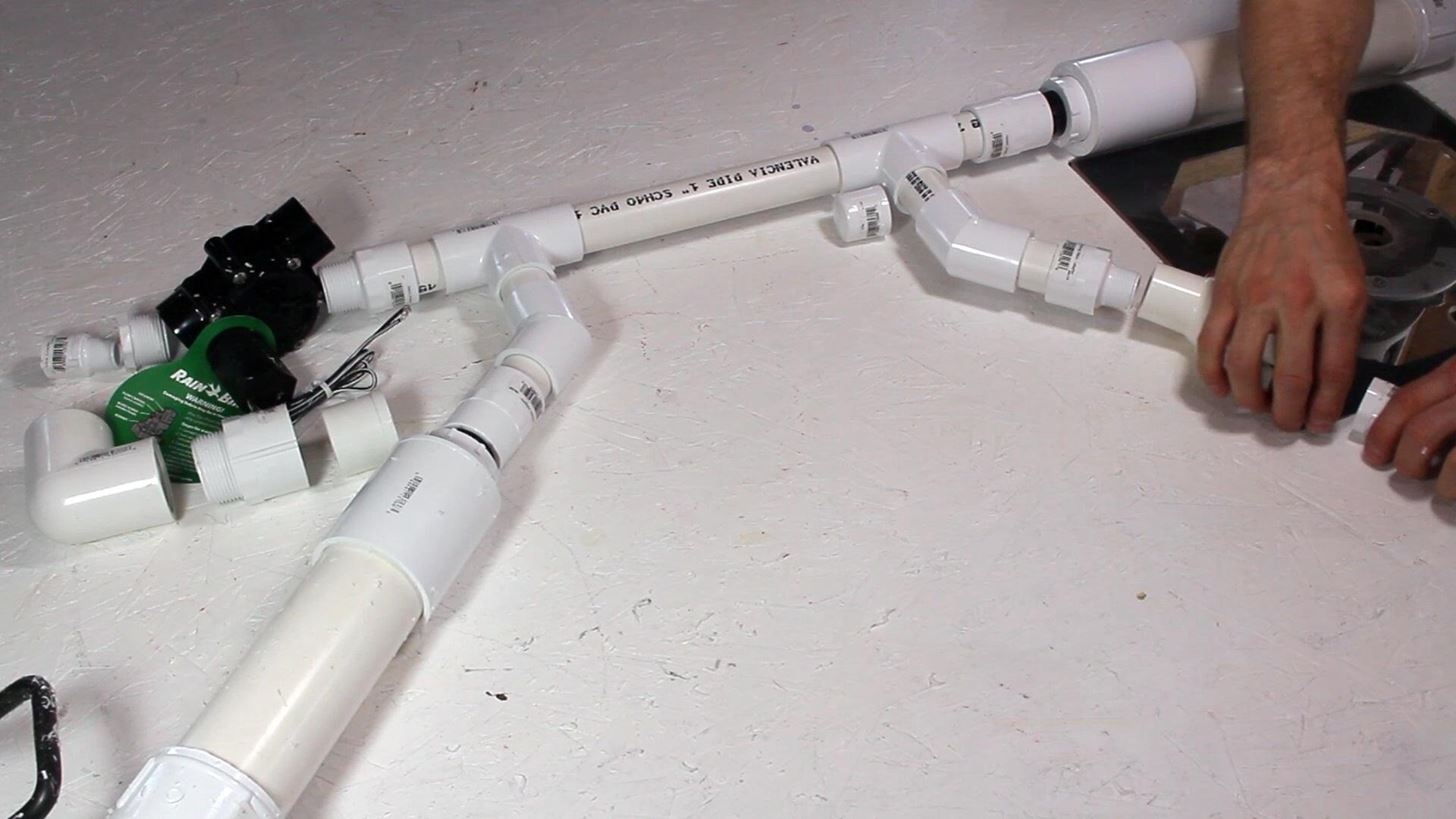 How to Make a Powerful Handheld Rocket Launcher from PVC and Sprinkler Parts