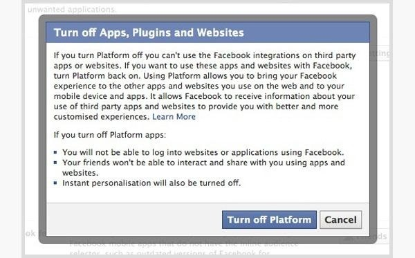 How to Disable Every Single App from Accessing Your Facebook Profile