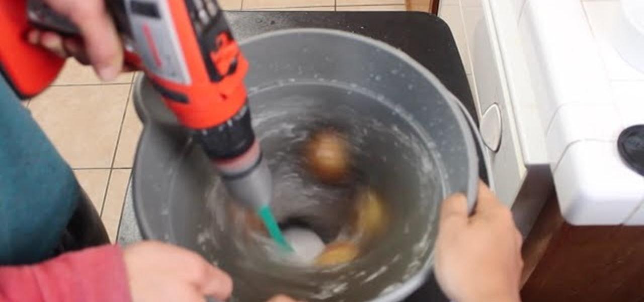 Peel Potatoes the Fast Way