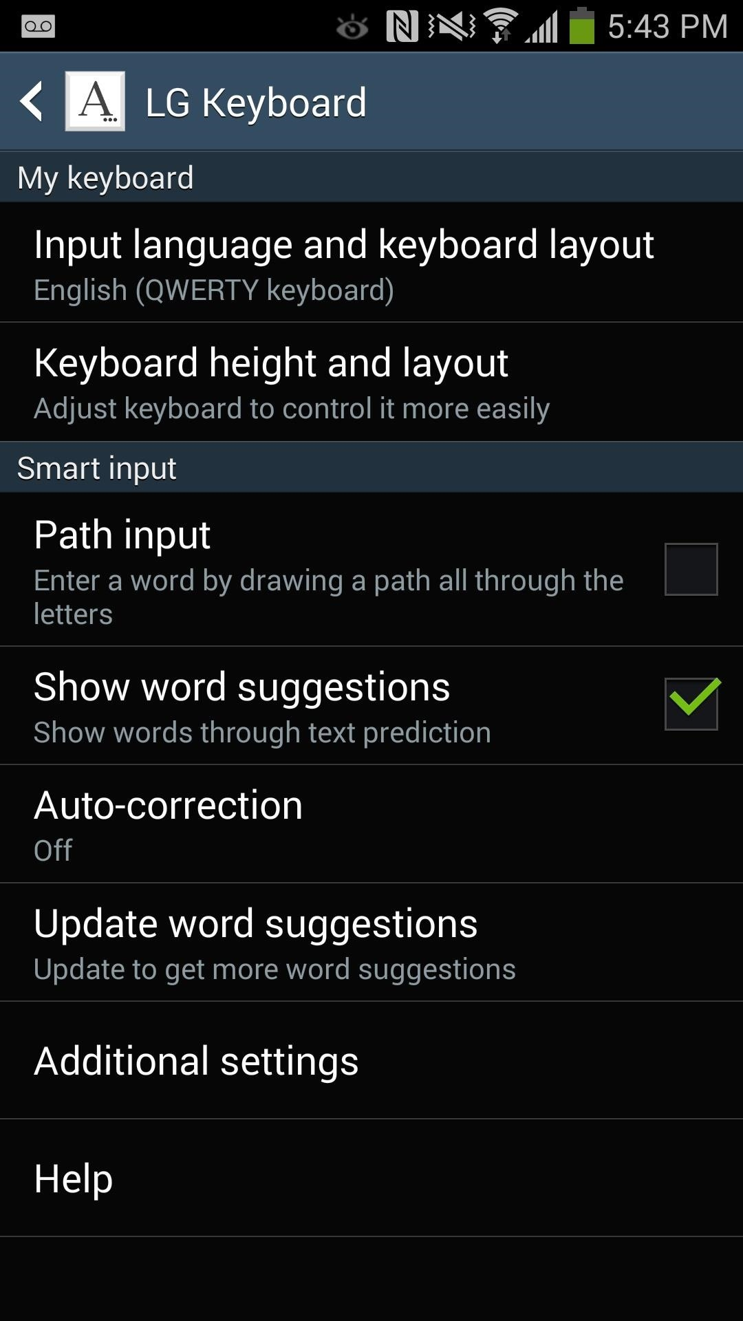Get the LG G3's Smart Keyboard on Your Galaxy Note 3