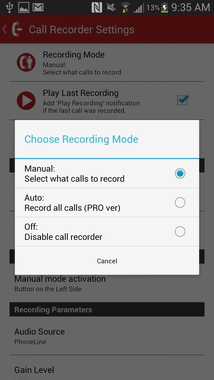How to Record High-Quality Audio of Phone Calls on Your Samsung Galaxy Note 2 (No Root Required)