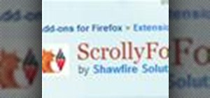 Turn on autoscrolling in the Mozilla Firefox web browser with ScrollyFox
