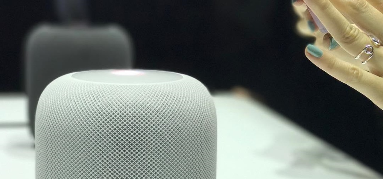 HomePod Firmware Leaks iPhone 8 Design