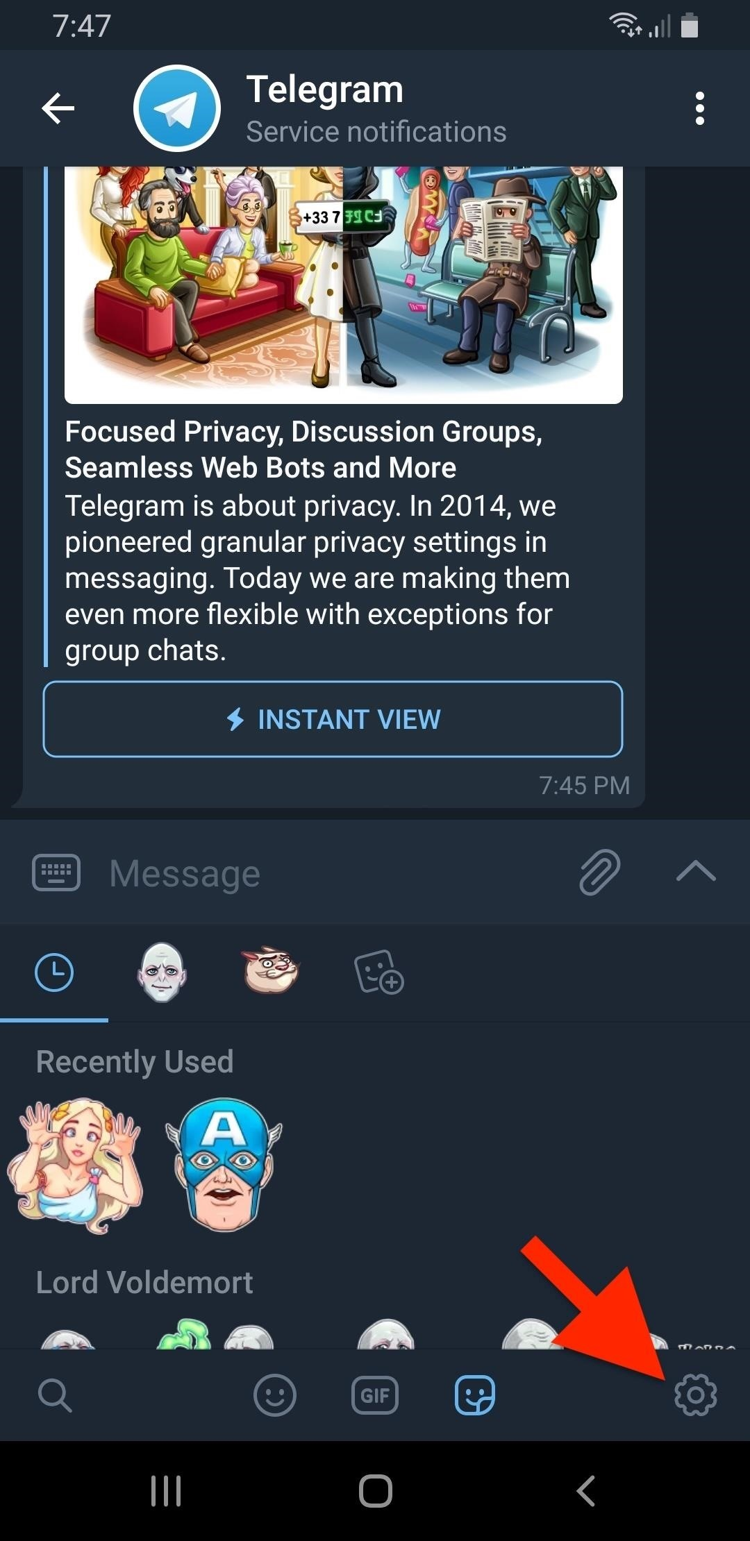 How to Use Telegram's GIF & Sticker Search to Find a Perfect
