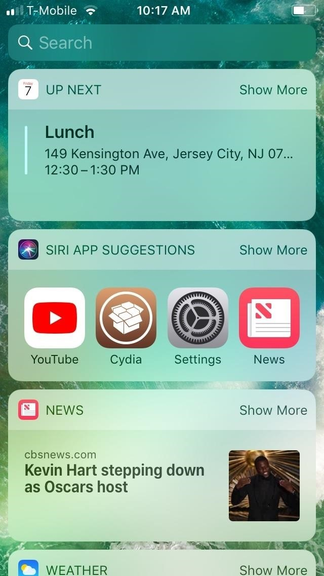 Add some color to your iPhone's easy-to-sort application banner