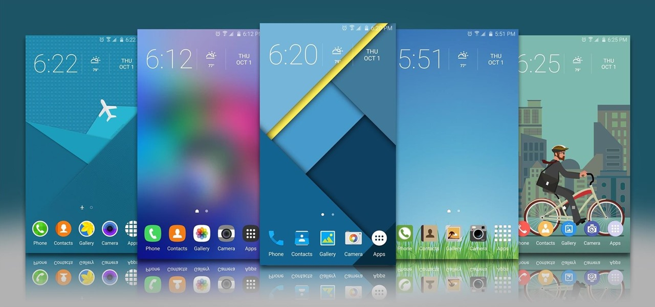 20 Official Samsung Galaxy Themes That Don't Totally Suck