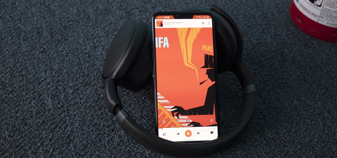 Launch Any Music App When You Connect Headphones to Your LG on Android 10