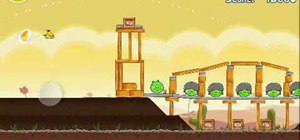 Get three stars on level 3-18 of Angry Birds for the iPhone