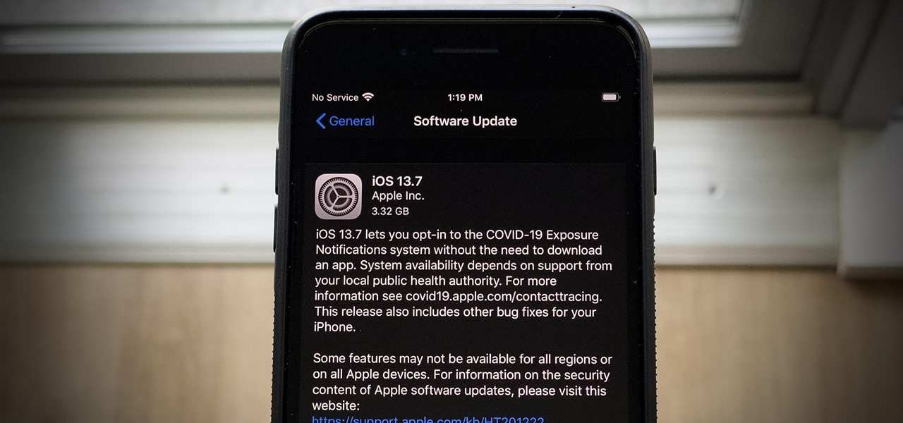 Apple Releases iOS 13.7 Beta, Includes Exposure Notification Support Without Needing an App