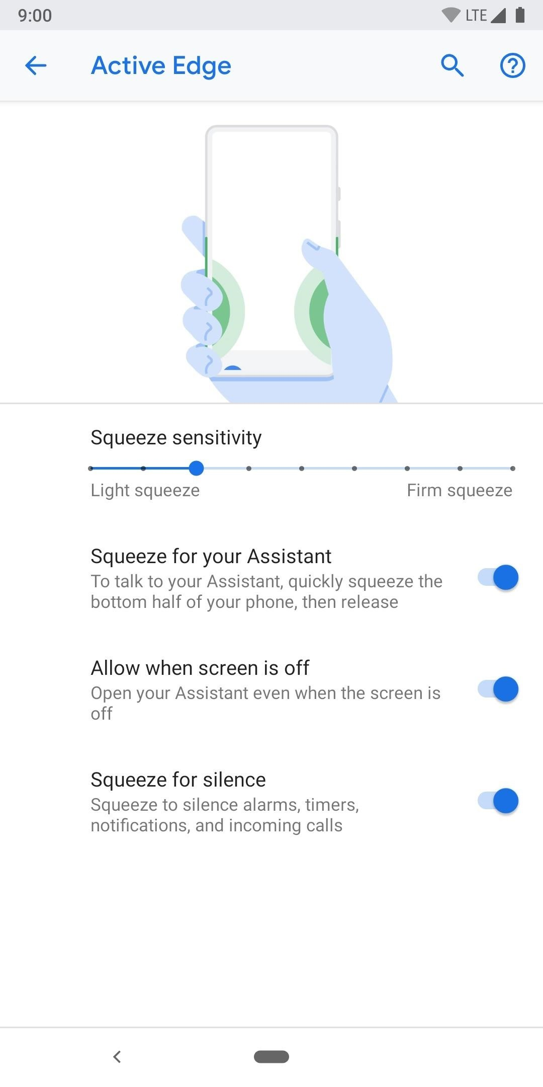How to Adjust the Active Edge Pressing Function for Your Pixel