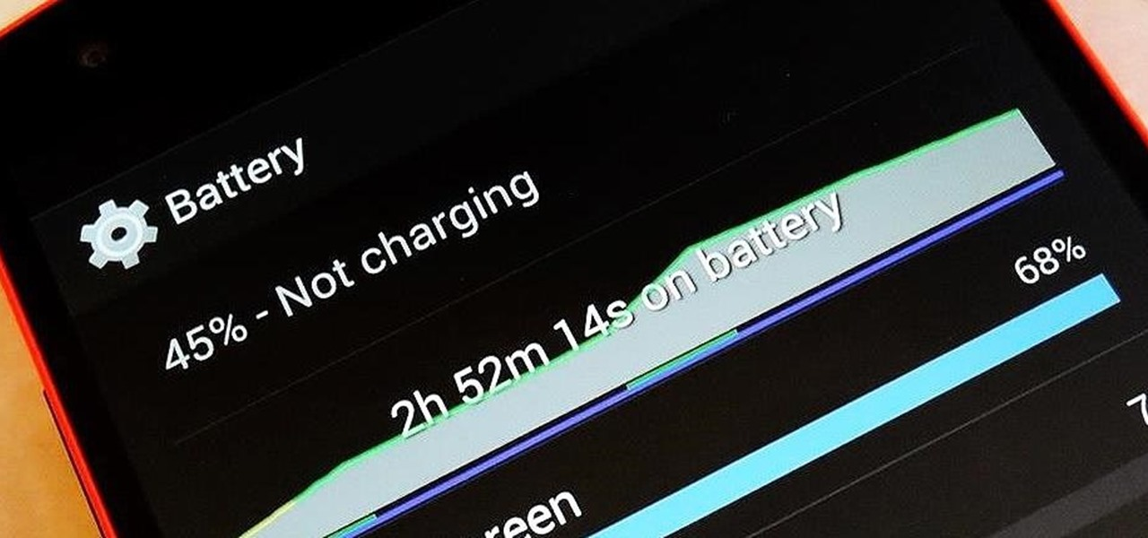 Increase Battery Life on Your Nexus 5 Without Installing Any Apps