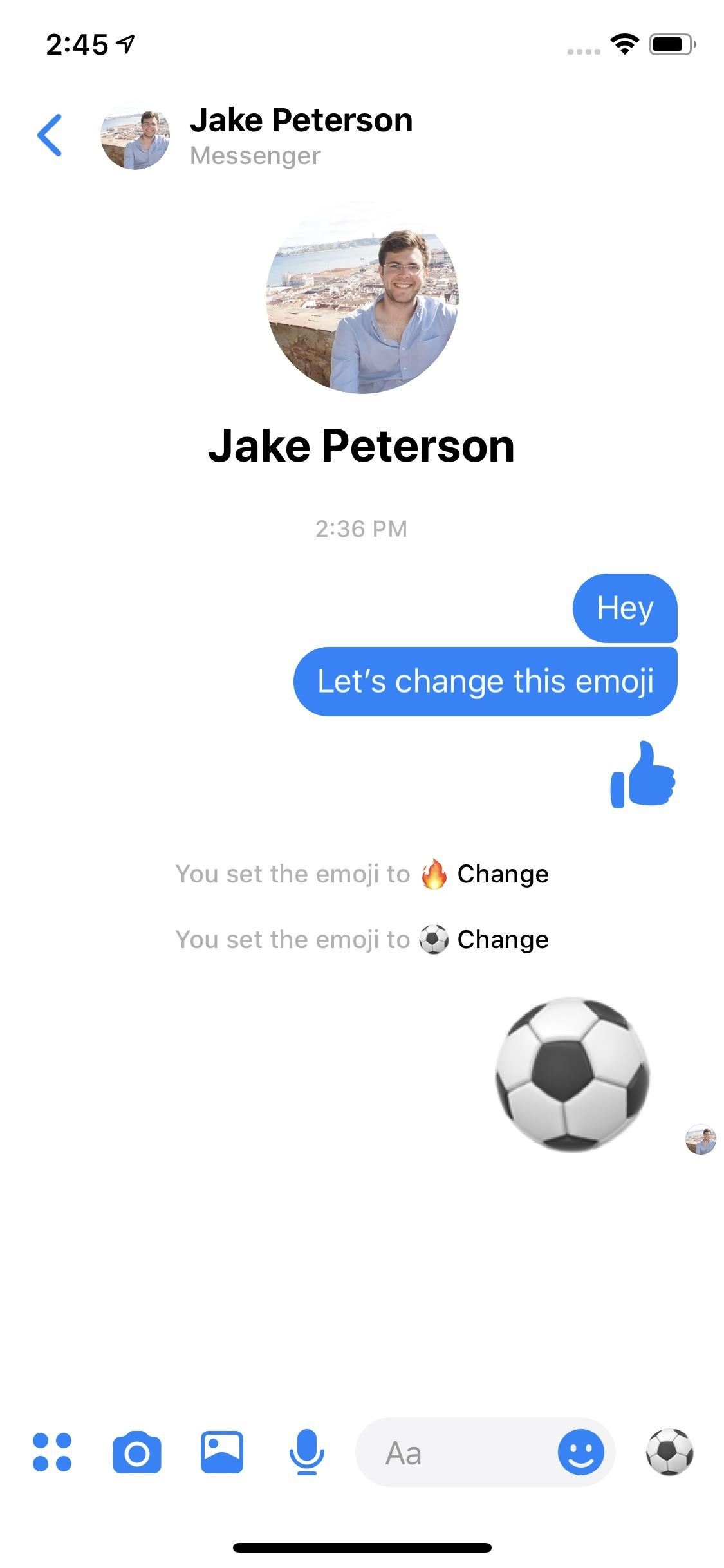 Sick of Thumbs Up? Here's How to Change the Default Chat Emoji in Individual Messenger Threads