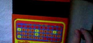 Glitch a Speak & Spell without circuit bending