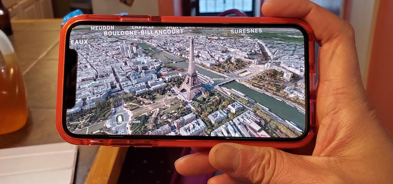 Unlock Virtual Reality 'Flyover' Cities in Apple Maps to Navigate & Tour Places in 3D on iPhone