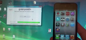 Use greenpois0n to jailbreak an iPhone 4, iPod Touch or iPad on a Windows PC