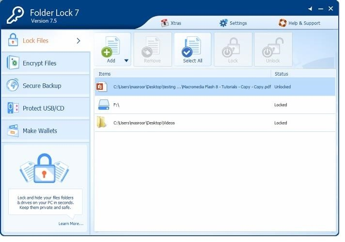 How to Lock Your Files & Create Password-Protected Folders in Windows 7/8