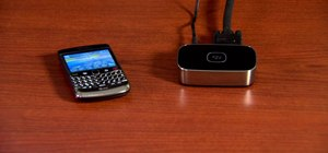 Set up and use a BlackBerry Presenter with a BlackBerry phone
