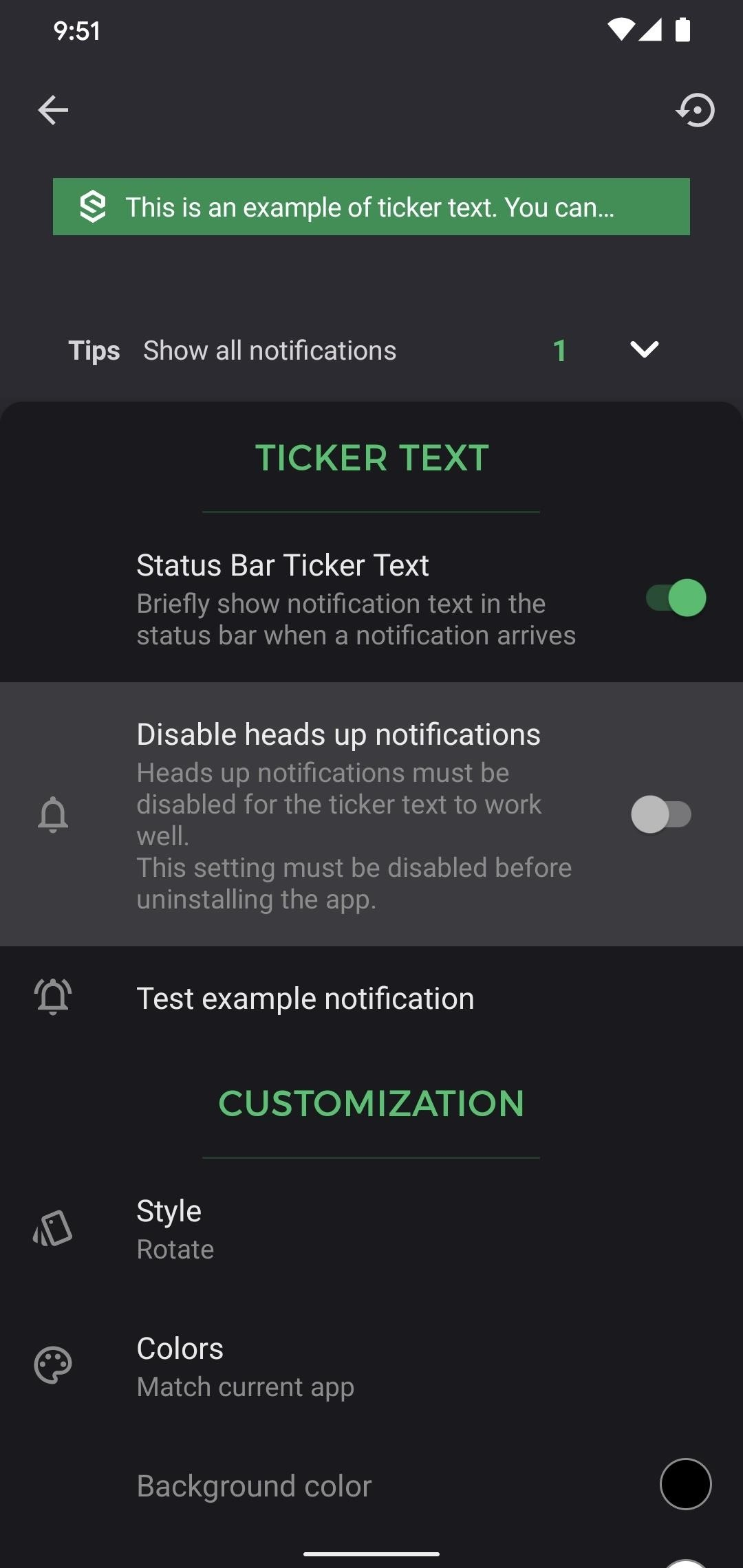 How to Bring Back the Notification Ticker on Any Android