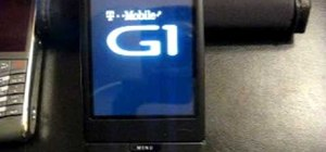 Do a hard reset on a G1 T-Mobile HTC phone
