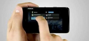 Connect to a Wi-Fi network on a Nokia N900 phone