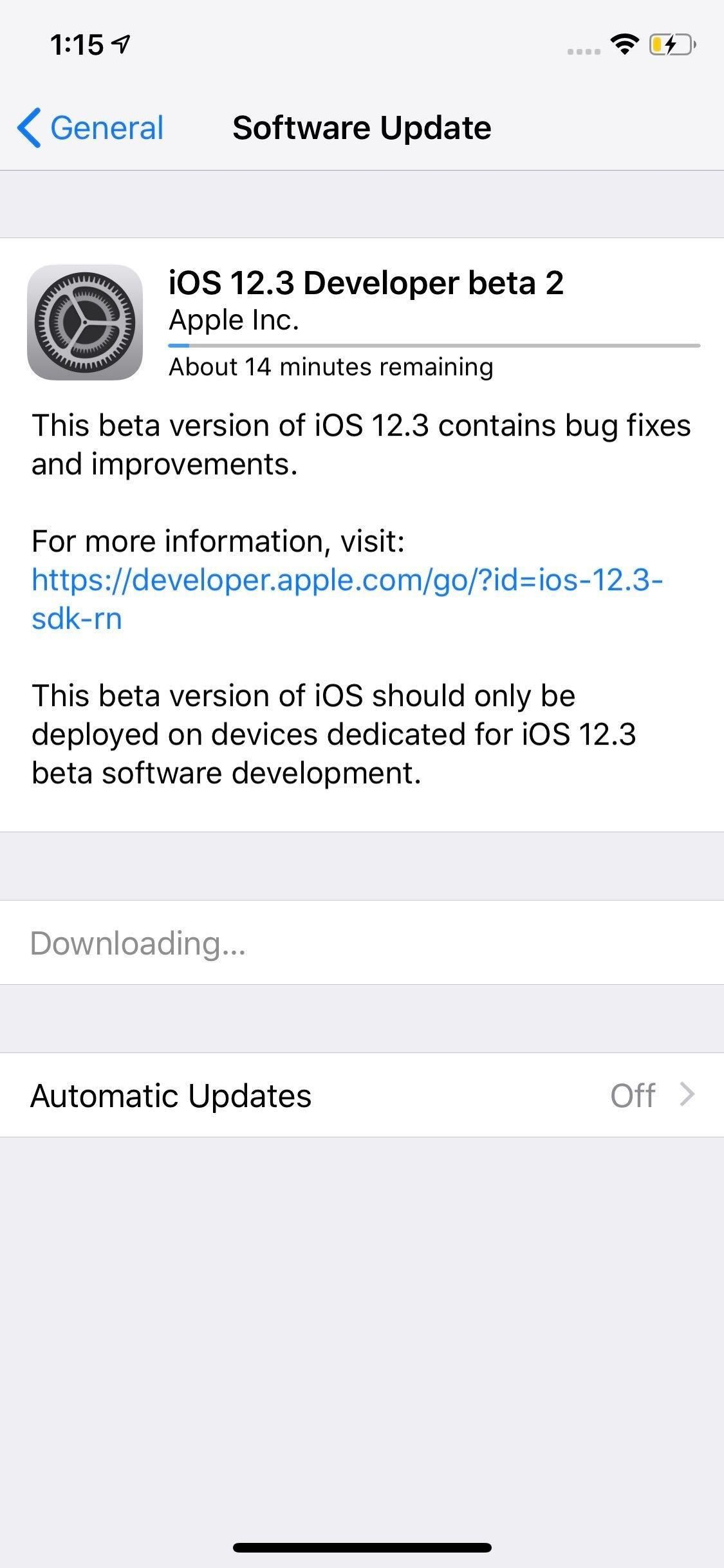 Apple has just released iOS 12.3 Developer Beta 2 Today, features for dates and times